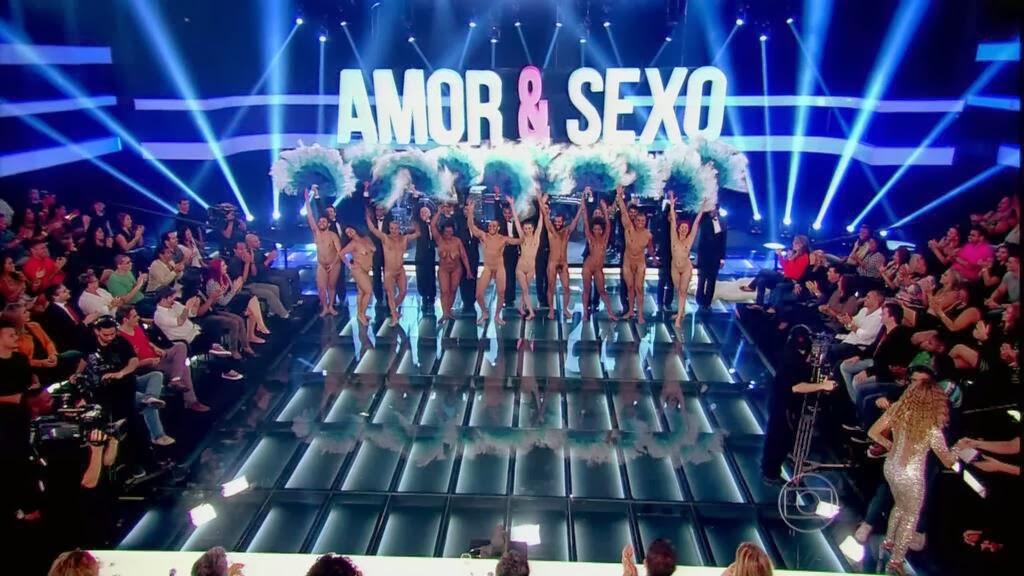 Sandro Borges gogoboy pelado Amor e Sexo