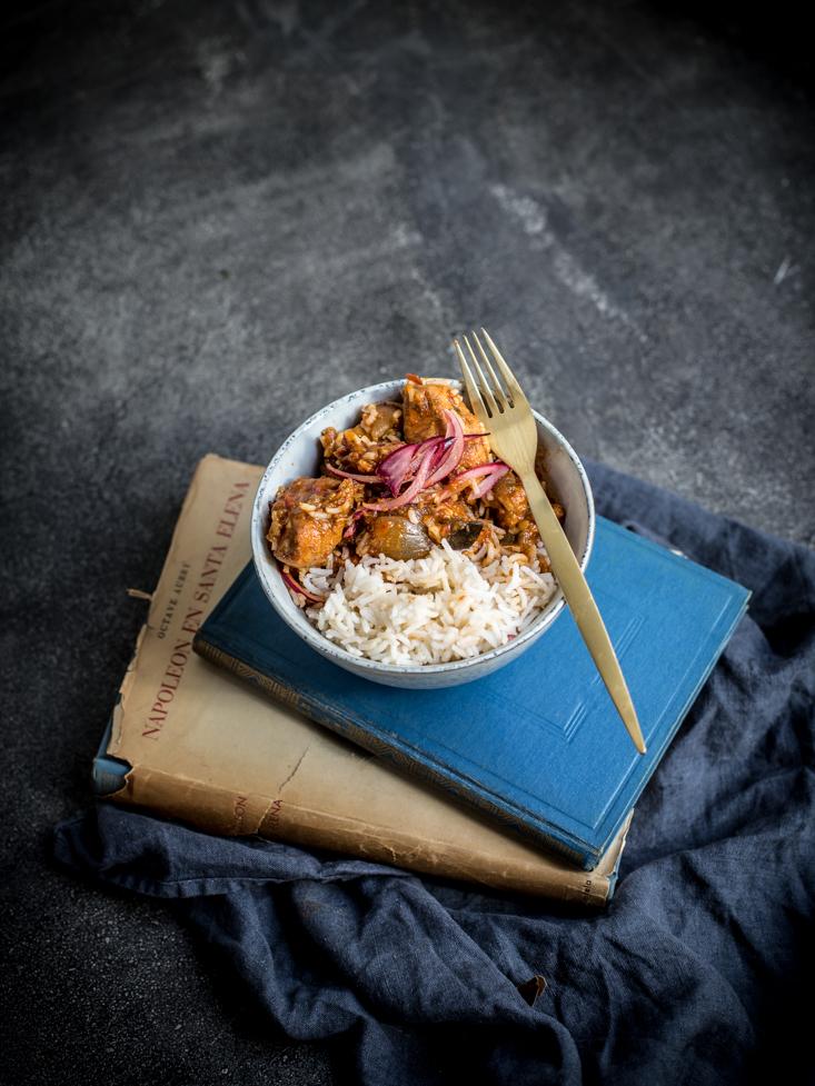 La cocina de carolina estofado ghan s con cacahuete for Cocina 5 ingredientes jamie oliver