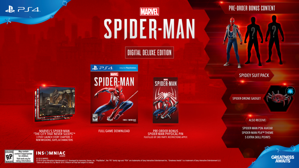 Spider Man Digital Deluxe Edition
