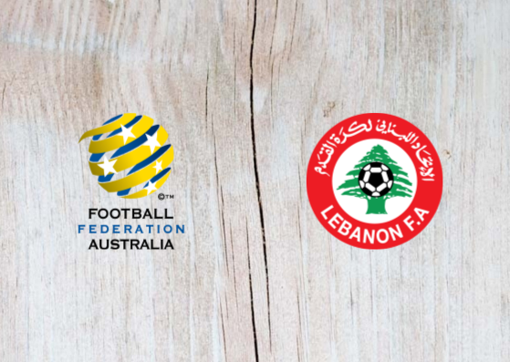 Australia vs Lebanon - Highlights 20 November 2018