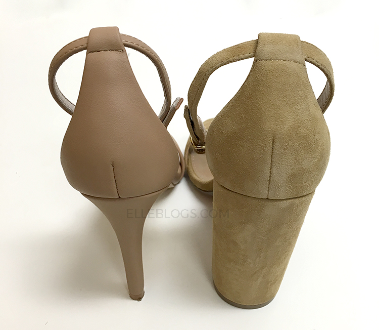 fa816a4ab84 The style is flattering and the block heel makes the height (4″) more  manageable than shoes with stiletto heels (as much as I love the look of  the Stecy ...