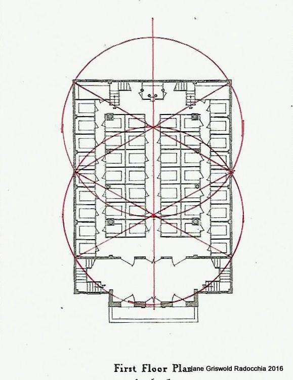 First Floor Elevation Definition : Jane griswold radocchia the old first church geometry