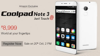 Coolpad Note 3 @ Rs. 8999