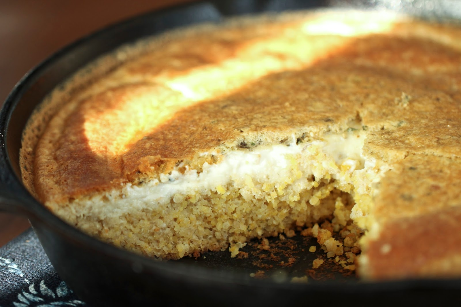 Flour.ish.en Test Kitchen: Quinoa Skillet Bread - IHCC Face-the-Day