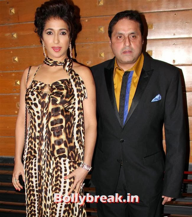 Krishika and Sunil Lulla, Filmfare Awards 2014 Red carpet Images