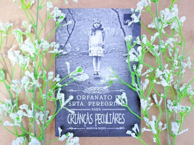 livro O Orfanato da Srta.Peregrine Para Crianças Peculiares