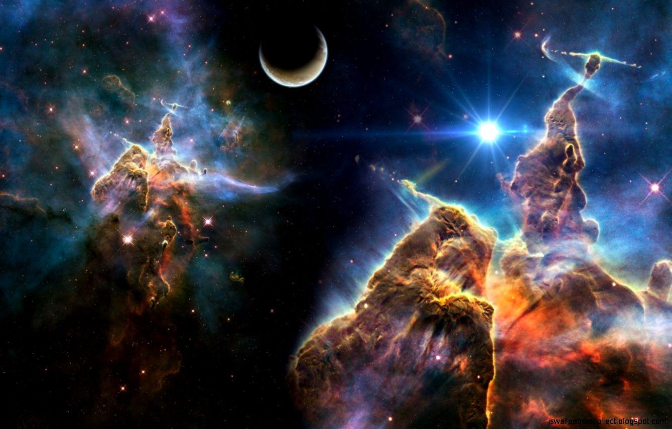 Pillars Of Creation Wallpaper Hd: Creation Space Hd Wallpaper