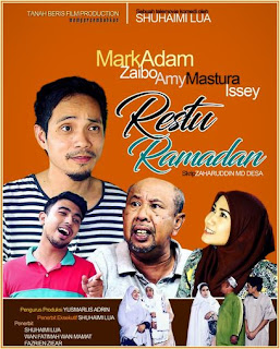 download tonton telemovie Restu Ramadan lakonan Mark Adam dan Amy Mastura