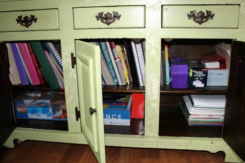 Reorganizing My Homeschool Spaces for a New School Year #homeschool