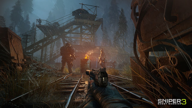 Sniper: Ghost Warrior 3 a 1080p\30fps no PS4