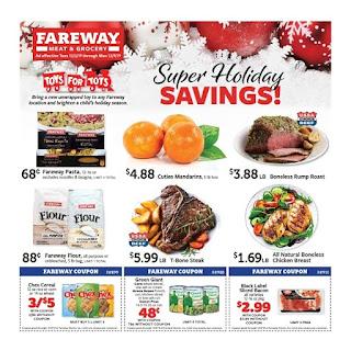 ⭐ Fareway Ad 12/10/19 or 12/16/19 ⭐ Fareway Flyer December 10 2019
