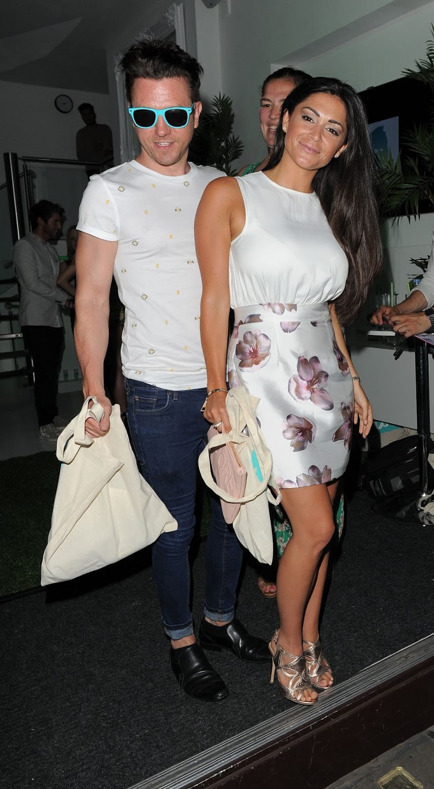 HQ Photos of Casey Batchelor at Lovo Coconut Water Launch Party in London