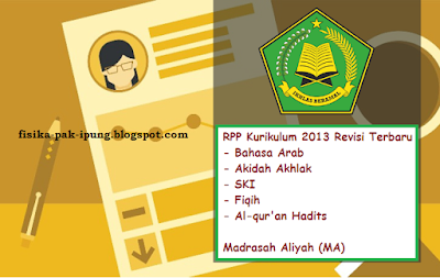RPP Fiqih MA Kelas X XI XII Kurikulum 2013 Revisi 2018