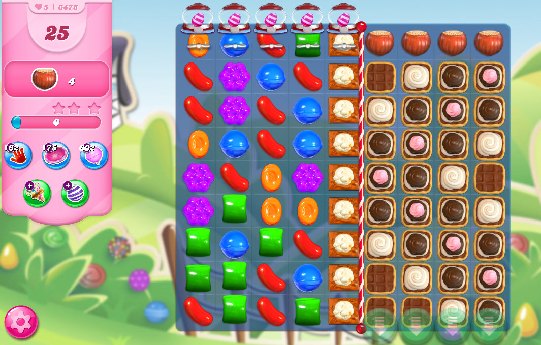 Candy Crush Saga level 6478