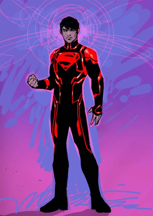 Novos 52: Superboy - por enquanto, sem comentários