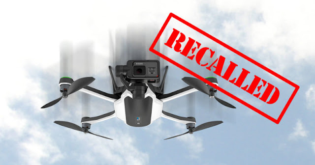 GoPro Karma Recalled