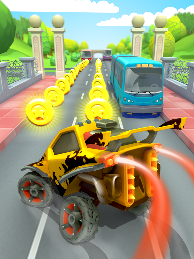Car Racing Run MOD APK Terbaru