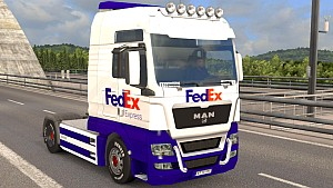 New FedEx MAN skin