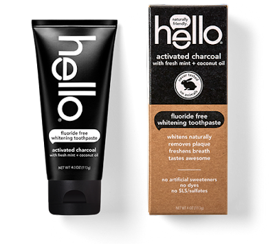 Dragonfly Sweetnest Hello Activated Charcoal Fluoride Free