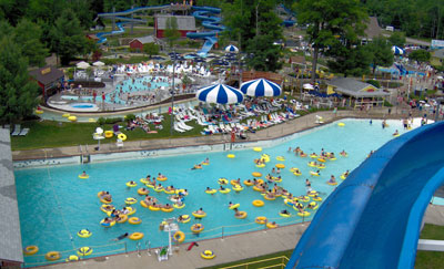 Whales Tale Water Park Goose Hollow Campground New Hampshire