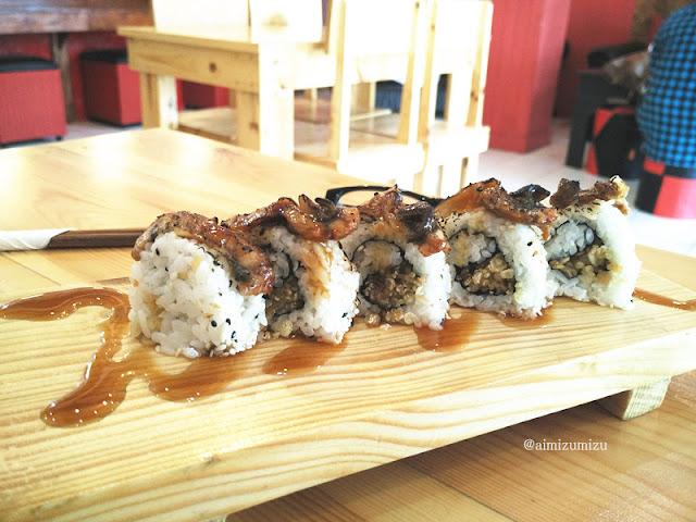 japanese sushi zushioda padang