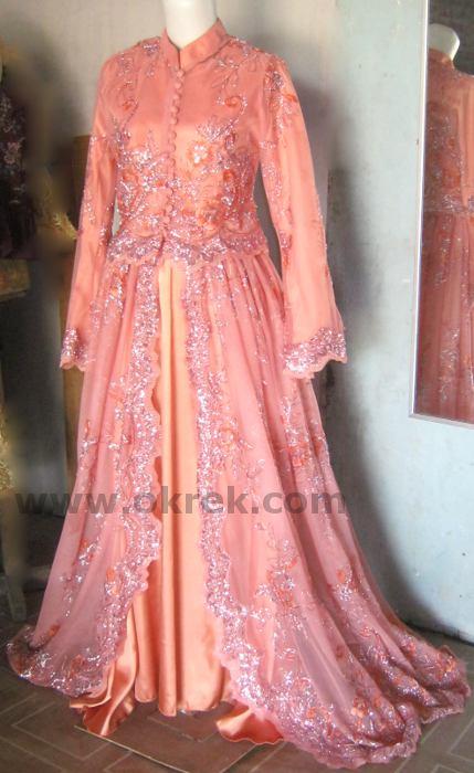 Gaun Pengantin Fatimah Abaya Pengantin Fatimah Desain Dan