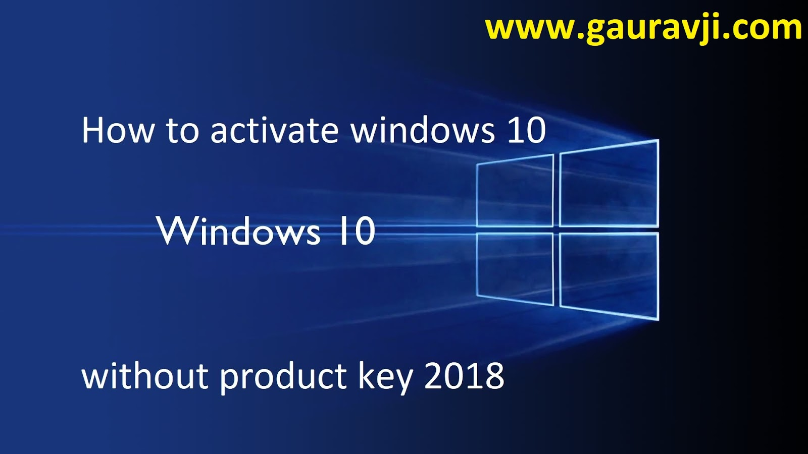 Activate windows os for free gauravji tech blog see detailed instructions on opening the command prompt as an administrator in windows operating system activation process of windows os step by step ccuart Choice Image