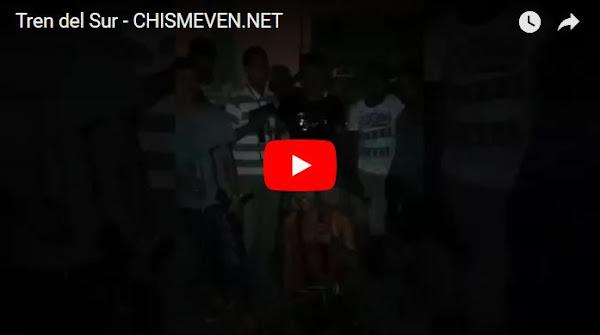 Miembros del Tren del Sur felicitan con disparos a José Altuve