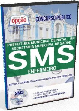 Apostila SMS Natal RN ENFERMEIRO