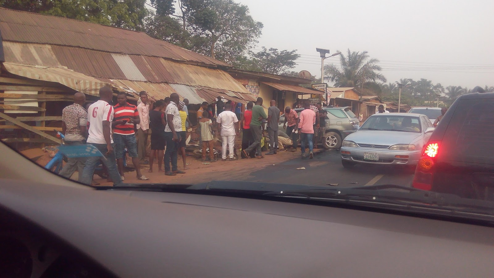 Scenes From An Accident Scene In Anambra - StanisWheels Blog - We