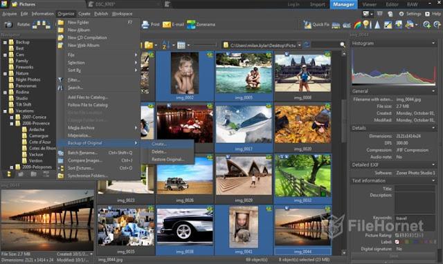 Download Zoner Photo Studio X 2020 for Windows