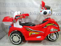 Motor Mainan Aki Pliko PK6100 thor dengan Kendali Jauh