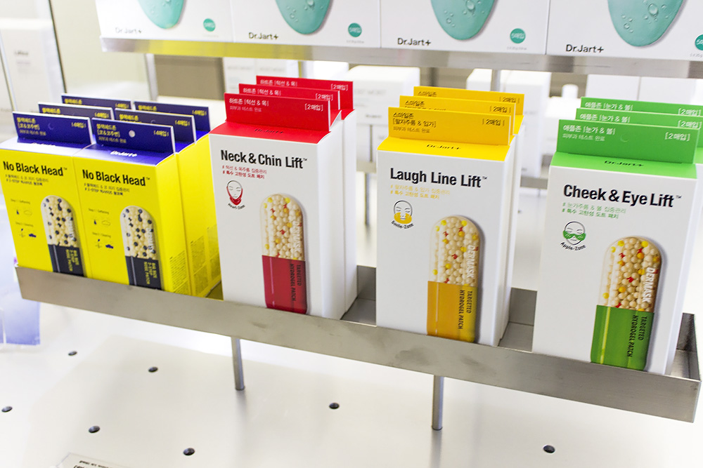 Dr.Jart+ Concept/Flagship Store: Dr.Jart+ Filter Space in Seoul exclusive masks