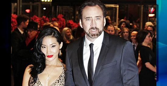 15 fãs que se casaram com seus ídolos - Nicolas Cage e Alice Kim