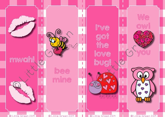 http://www.teacherspayteachers.com/Product/FREE-Valentines-Day-Bookmarks-to-use-as-Gifts-or-Rewards-1079213