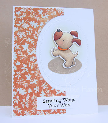 Heather's Hobbie Haven - Playful Pups 1 Card