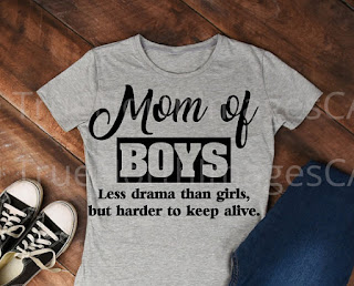 mothersday gift mother of boys
