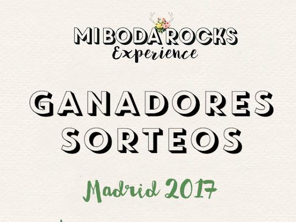 Ganadores Mi Boda Rocks Experience Madrid marzo 2017