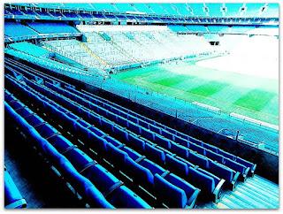 Cadeiras e Área da Torcida Organizada na Arena do Grêmio
