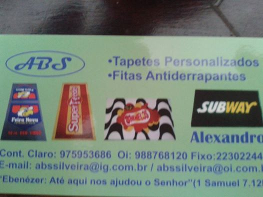 ABS - TAPETES PERSONALIZADOS