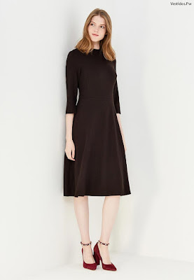 Modelos de vestidos color negro