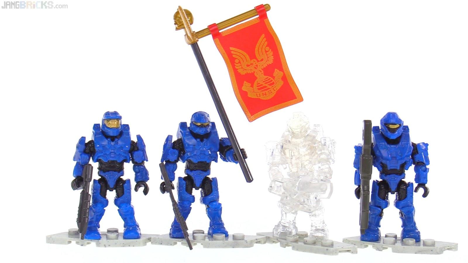 Mega Construx Halo Spartan Base Crasher Build Building Toy Set Play Fun