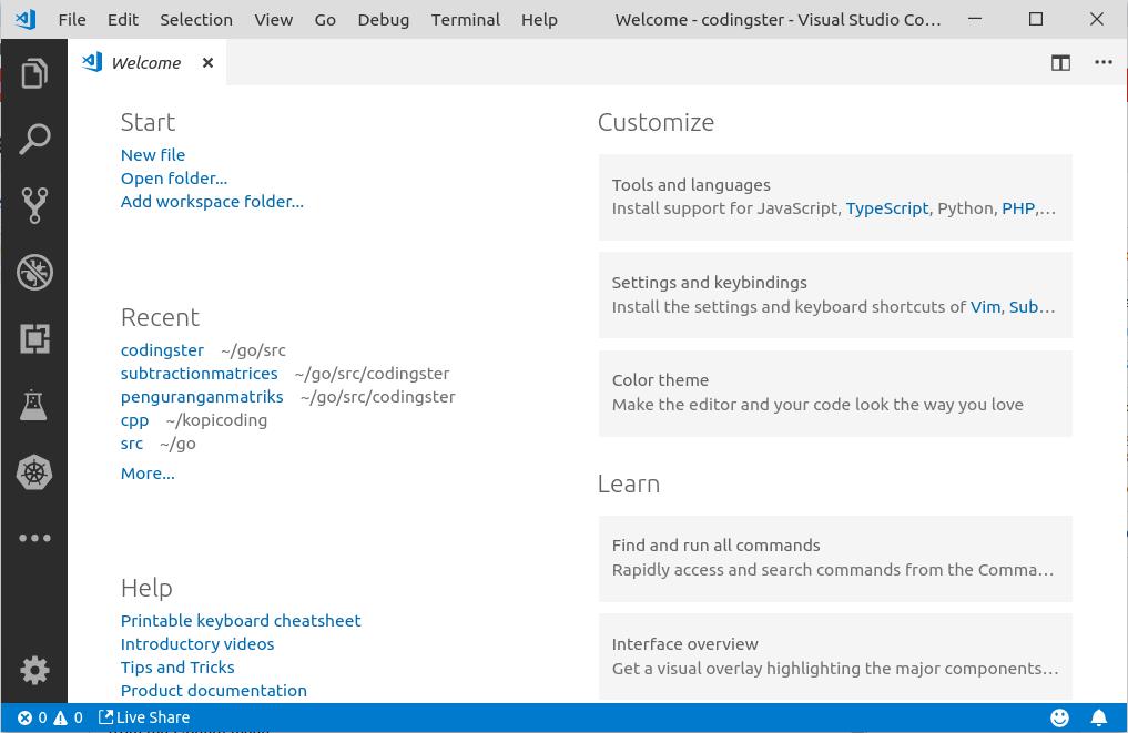 How To Install Visual Studio Code On Ubuntu 18 04 - Codingster