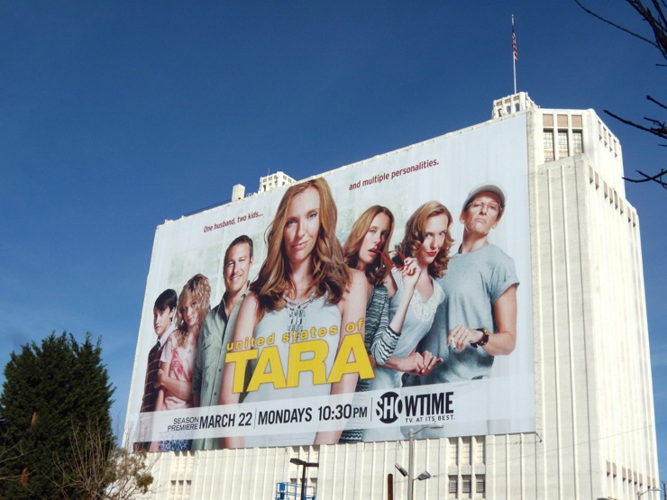 Giant United States of Tara 2 billboard