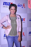 Sri Mukhi in Denim and Jacket at Max Summer Collection Launch  Exclusive 035.JPG