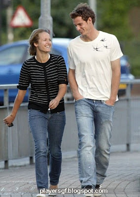 Andy Murray and his hot girlfriend Kim Sears