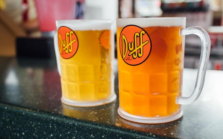 Duff Beer, Orlando