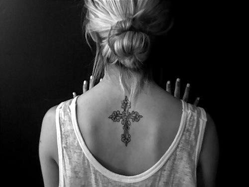 Tatuajes Religiosos De Cruces Para Mujeres Tatuajes Para Mujeres