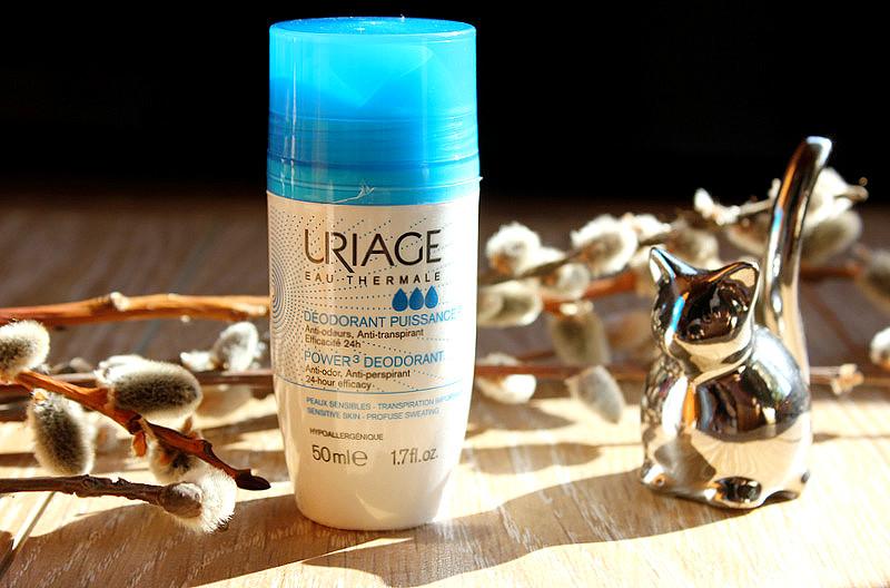 Шариковый дезодорант-антиперспирант тройной силы Uriage Power 3 Deodorant / отзывы