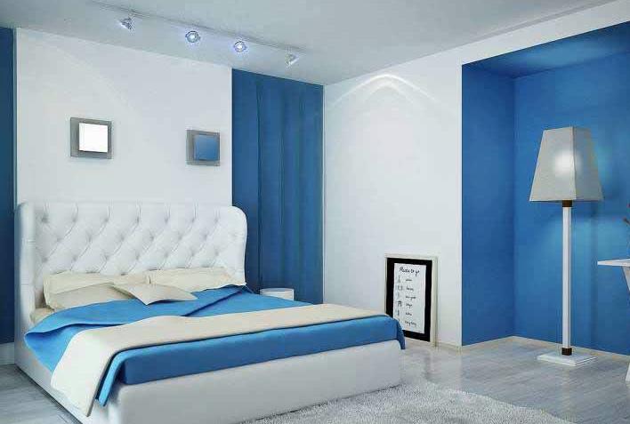 pemilihan warna cat kamar tidur bagus untuk dekorasi dan